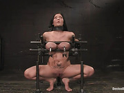 bondage, bound, breasts, toes