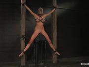 bondage, naked, orgasm, vibrator