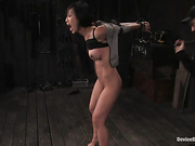 bondage, bound, leather, slut