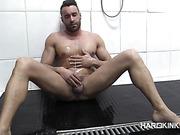 fucking, gay, shower