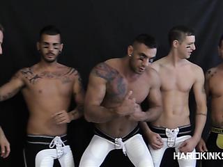 handsome inked gay hunks