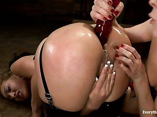 hardcore anal threesome from