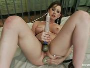 ass, rough sex, solo, toys