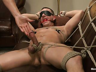 blindfolded stud bound the