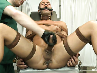 enchained and blindfolded stud