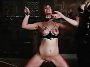 babe, bondage, tits, vibrator