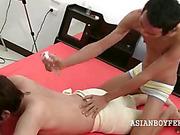 asian, gay, pissing