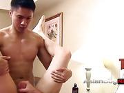 asian, gay, shower, white