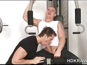 gay, gym, kinky, workout