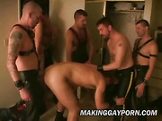 ass, gay, leather, orgy