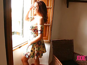 babe, dress, individual model, window