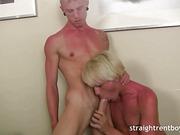 blonde, gay, oral
