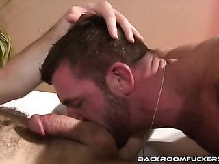 pair muscular hunks seen
