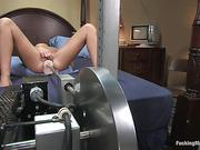 bra, fucking machines, pussy, tits