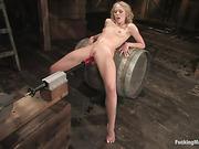 bondage, fucking machines, pussy, submissive