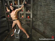 anal, fucking machines, tied up, wax