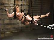 grandes boobed morena bondage