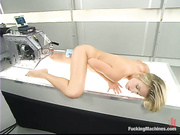 passionate blonde whore gets