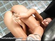 brunette, gorgeous, lingerie, pussy