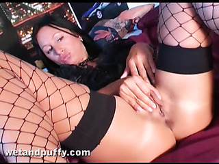 tanned slut with brown