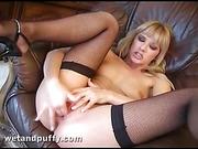 blonde, legs, pussy, slut