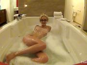 babe, individual model, tits, wet