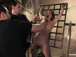 red sex slave with