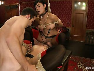 two tied darlings garters