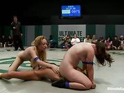 femdom, fighting, wrestling
