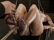 beautiful, bondage, fitness, model