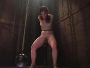 bondage, cum, moaning, pain
