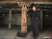 bondage, breasts, orgasm, tan