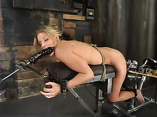 gagged and tied blondie