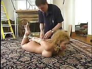 bondage, machine, pussy
