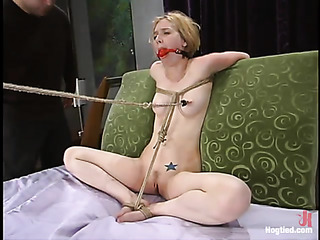 blonde bitch with small