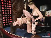 bondage, fucking, pussy, pussy licking