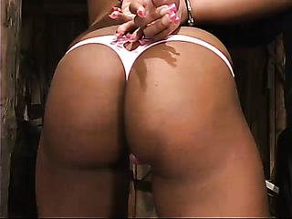 ebony slut high heels