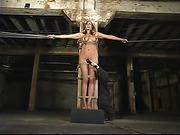 bondage, tan, tied, tied up