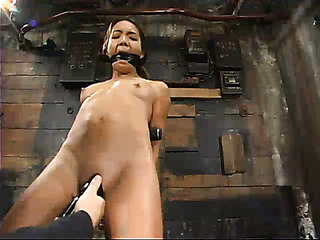 asian brunette bitch with