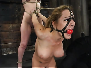 tied blonde whores with
