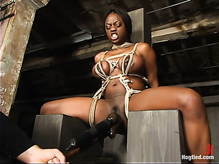 big boobed ebony model