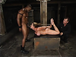 blonde milf bondage blows