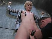 bondage, bound, squirt