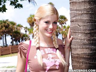 petite blonde sex
