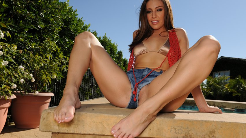 Sexy gracie glam feet right! think