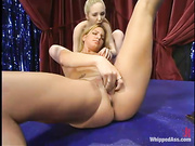 long haired blonde mistress