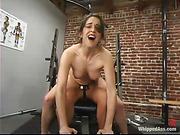 femdom, lesbian, strapon, workout