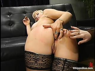 busty blonde pornstar black