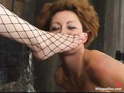redhead slave gets used
