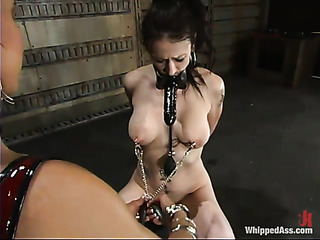 super hot whipping session